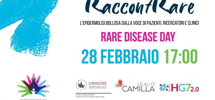 RaccontRare: la malattia dei Bambini Farfalla online in occasione della Giornata delle Malattie Rare